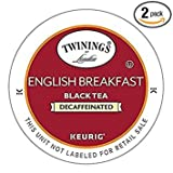 Best Twinings Tea Cups - Twinings English Breakfast Decaf Tea 48-Count K-Cups Review