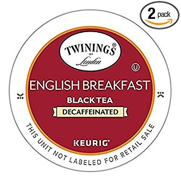 Twinings English Breakfast Decaf Tea 48-Count K-Cups for Keurig Brewers (Tea Twinings Assam)