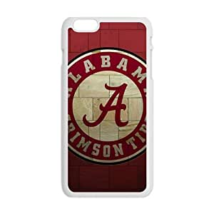 Alabama Grimson Tide Fashion Comstom Plastic case cover For Iphone 6 Plus