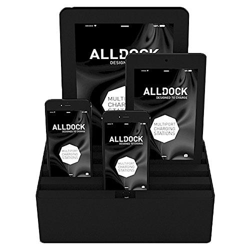 Medium Black Base with Black Top (Black / Black) by ALLDOCK