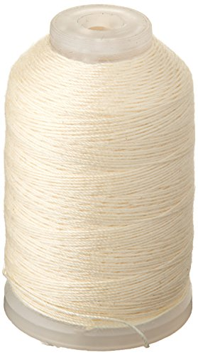 YLI 21503-23 30wt T-90 Jeans Stitch Polyester Thread, 200 yd, White