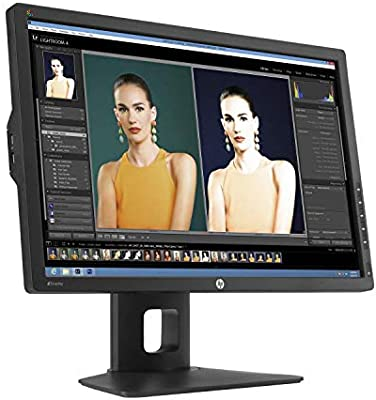 HP DreamColor Z24x Professional 24in IPS LED Backlit LCD Monitor Display E9Q82A8#ABA (Renewed)