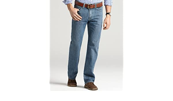 Tommy Hilfiger Men's Freedom Relaxed Fit Jeans, Core Elmira