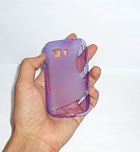 Carcasa Funda gel TPU S Line Flexible para Samsung Galaxy Young 2 II GM-130 - Color MORADO