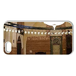 Al Fateh Mosque in Manama - Bahrain (interior) - Case Cover for iPhone 5 and 5S (Religious Series, Watercolor...