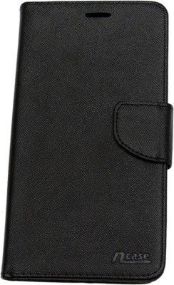 nCase Flip Cover for Coolpad Note 3 Lite – (Black) (5-inch)