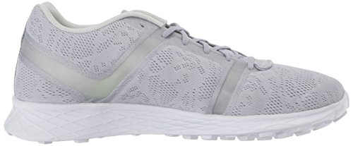 Reebok Women's Sublite Speedpak MTM SE Running Shoe, Cloud Grey/Opal/White/Purple, 7 M US
