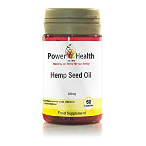 Power Health Hemp Seed Oil 300mg – Pack of 60 Capsules