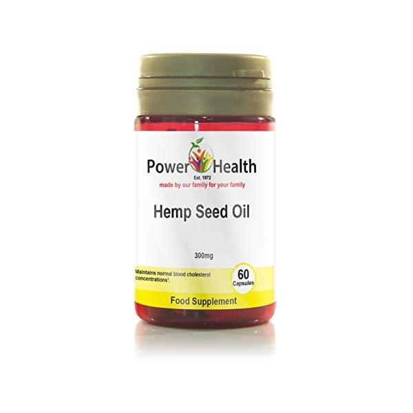 Power Health Hemp Seed Oil 300mg – Pack of 60 Capsules