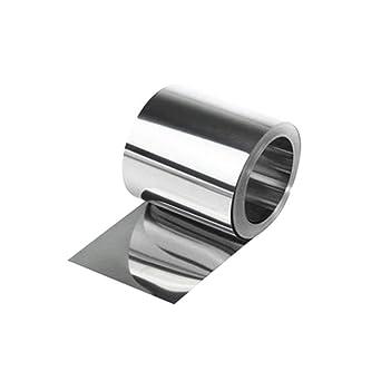 Hoja fina de acero inoxidable S304 de 0,1 x 100 x 1000 mm ...