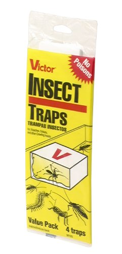 Victor Poison-Free M193 Insect Trap, 4-Pack