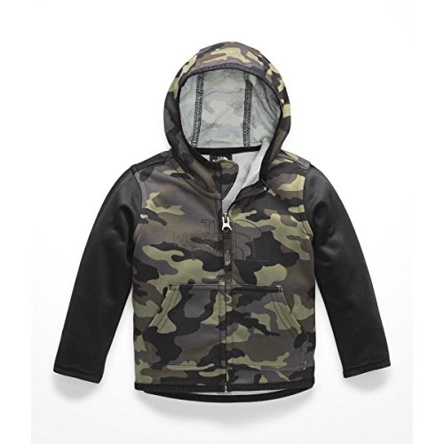 - The North Face Infant Surgent Full Zip Hoodie - New Taupe Green Camouflage Print - 12M