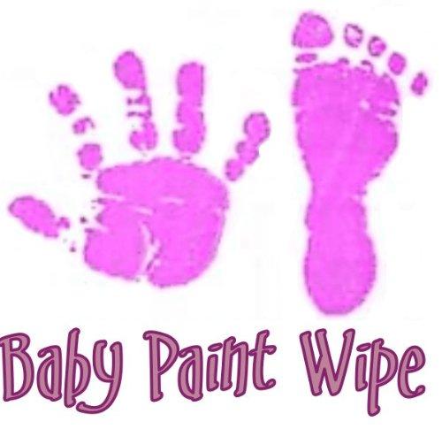 Imp Prints Co New Baby Prints Handprints Footprinst Easy Paint Ink Wipe Kit (Violet) B005O24SDO