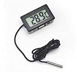 Huyenkute Fashion Hot Lcd Digital Thermometer For Freezer Temperature 50 110 Degree Refrigerator Fridge Thermometer