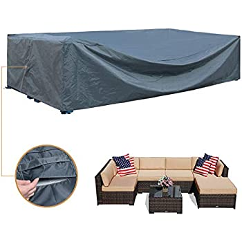 Amazon Com Patio Furniture Covers Waterproof Outdoor Furniture Set