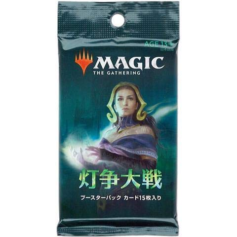 MTG Magic The Gathering WAR of The Spark Booster Box rare JAPANESE version! ()