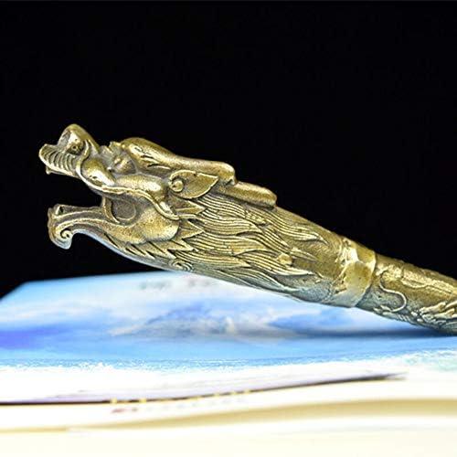 軽量 高齢妊婦の男性の友人のための金属製のシューホーンロングハンドル真鍮実用的な靴の着用者ギフト 耐用 (Color : Brass, Size : 36.5cm)