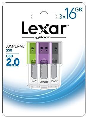 Lexar JumpDrive S50 USB Flash Drive by LEXAR MEDIA INC