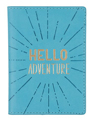 Eccolo World Traveler D916B Passport Cover, Hello Adventure by Eccolo World Traveler