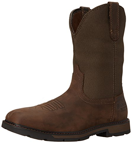 Ariat Work Men's Groundbreaker Wide Square H2O Steel Toe Work Ariat Boot, Palm B00NVM6GM0 Shoes e12d68