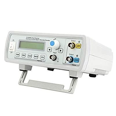 Signal Generator,FY3200S AC85-260V Dual-Channel Digital DDS Arbitrary Waveform Function Signal Generator 250MSa/s Frequency Meter FSK Ask Signal Output Pulse Source Generators (24MHz US)