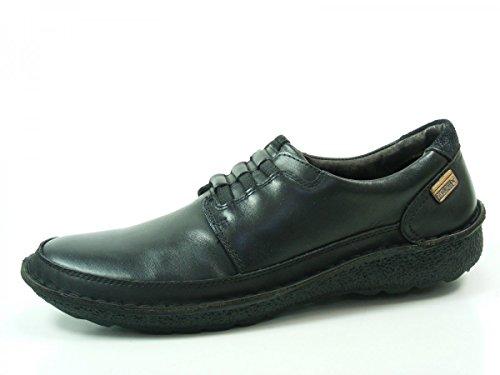 para Mocasines 01G Chile 3070 hombre de Schwarz Zapatos cuero Pikolinos 0IaqA