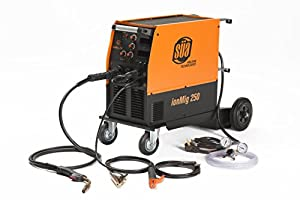 SÜA ionMig 250 IGBT MIG Welding Machine 220 V FLUX CORED/Lift TIG/STICK by SÜA