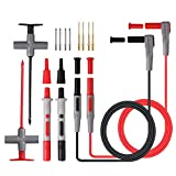 Proster Automotive Test Lead kit Test Probe Power Probe Wire-Piercing Probe Clip Puncture Probe Puncture Wire Break Signal with 4mm Banana seat