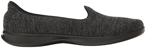 Skechers Go Step Lite Origin Womens Zapatillas - SS17 Black/Gray Heather
