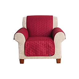 Sure Fit Furniture Friend Pet Throw - Chair Slipcover  - Claret (SF37508)