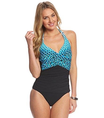 b63d4a806d041 Profile by Gottex Women's Plus Size Cocoon Classic Bra Tankini Top (20W)