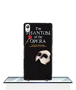 Specially Designed For Sony Xperia Z3 (just for Z3) Funda Case Phantom of The Opera logo TV Style Drop Proof & Anti Scratch Plastic Cell Phone Funda Case