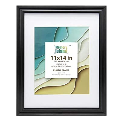 Memory Island Picture Frame 5x7 Mat 4x6