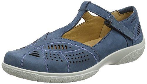 Femmes blue River Hotter Grace 105 Exf Pour Merceditas Bleu wppzIUOq