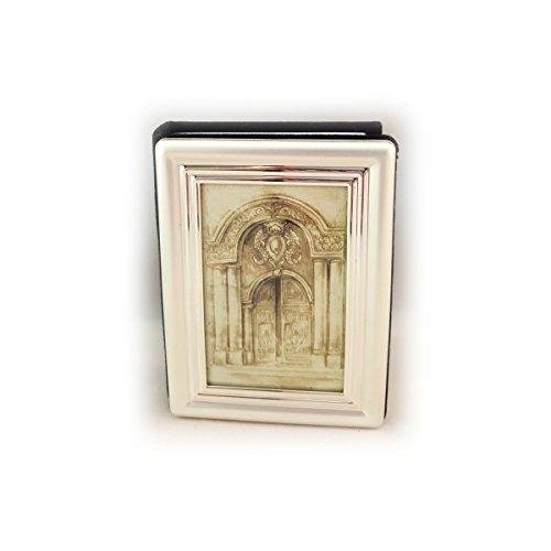 CBK Ltd Silver Plated Frame Top Mini Photo Album ()