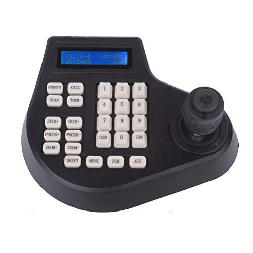 PTZ 4D Joystick Keyboard Controller for CCTV Zoom Speed Dome Camera Pelco-D/P