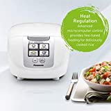 Panasonic 5 Cup (Uncooked) Rice Cooker with Fuzzy