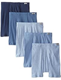 Hanes Men's 5-Pack FreshIQ Comfort Soft Boxer Briefs