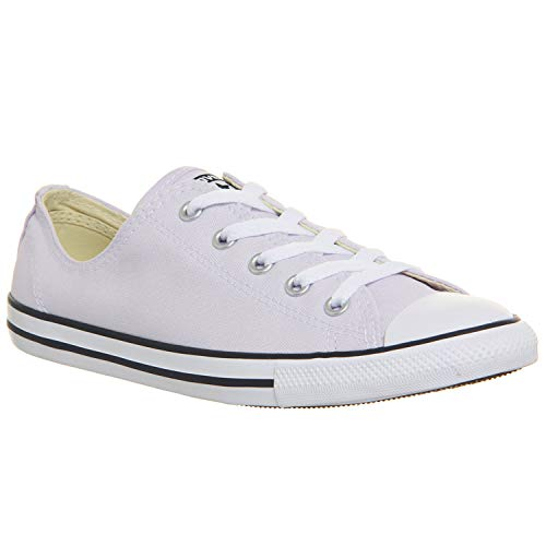 Converse Womens Chuck Taylor All Star Dainty Ox (8 M US, Barely Grape/White/Black) ()