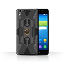STUFF4 Phone Case / Cover for Huawei Y6 / Robot Design / Armour/Armor Collection