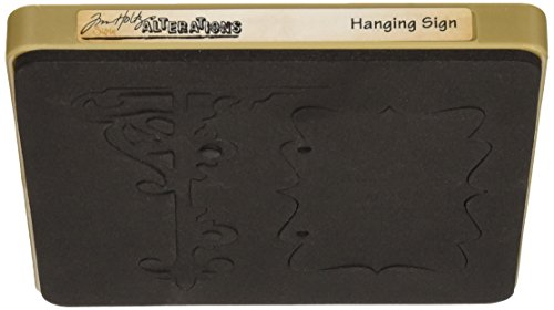 (Sizzix Bigz Bigkick/Big Shot Die by Tim Holtz, Hanging Sign)