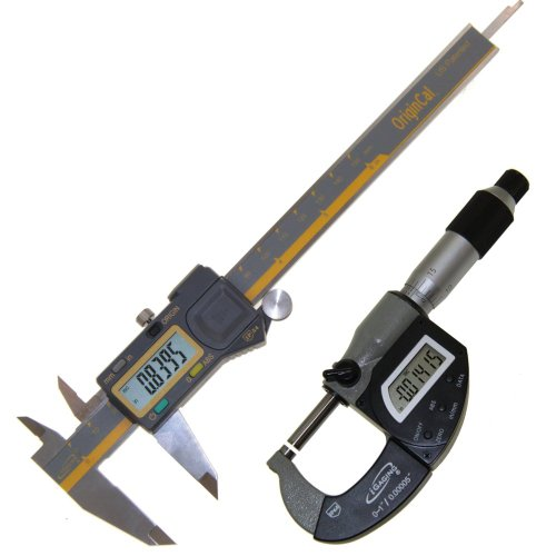 "iGaging IP65 1"" Electronic Micrometer Hybrid + ABSOLUTE O..."