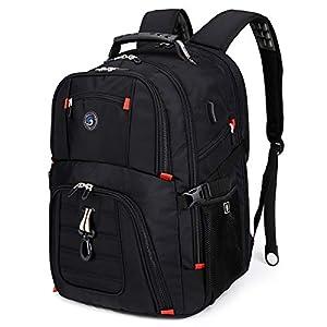 Best Epic Trends 41YXbkjv2fL._SS300_ Extra Large 50L Travel Laptop Backpack with USB Charging Port Fit 17 Inch Laptops for Men Women
