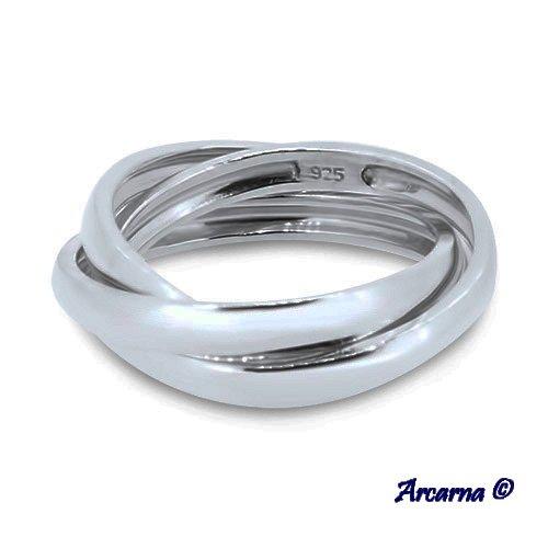 Acquista autentico prezzo moderato design di qualità Arcarna - Anello in argento 925, argento, 49 (15.6), colore ...