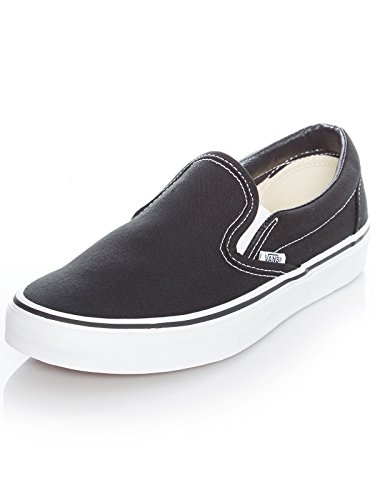 U lona ON CLASSIC Black BLACK VEYEBLK Mocasines unisex SLIP de Vans aTdwq8d