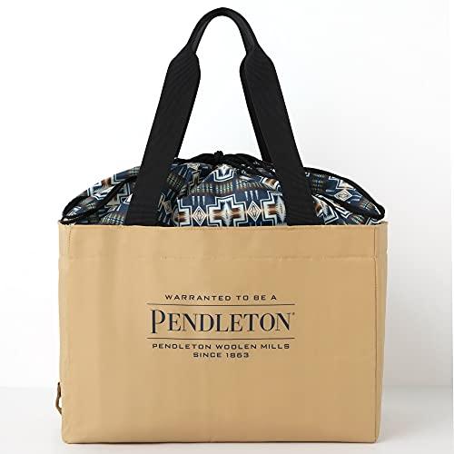 PENDLETON 保冷ができる BIG SHOPPING BAG BOOK BEIGE ver. 画像 A