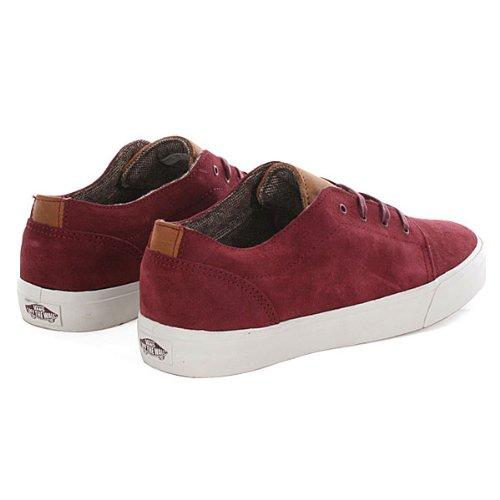 Vans Era Vulcanized Ca Atletismo Zapatillas Deportivas Skate Zapatos Para Hombre Rojo - rojo