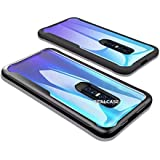 REALCASE Vivo V17 Pro Back Cover Case, Clear Gel TPU Bumper Back Cover Case for Vivo V17 Pro [Shock Proof] [Anti-Slip] [Scratch Resistant] (B Black)