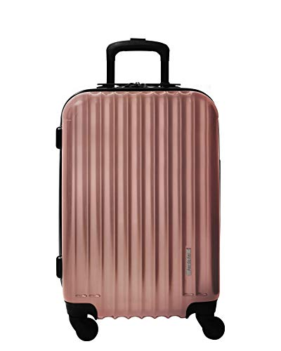 Aer de Aer Premium Carry On Luggage Spinner – Super Light Weight, Maximum Capacity – The Carry On, Re-Imagined, Rose…