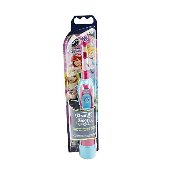 Spazzolino Elettrico per Bambini di Cenerentola - Braun Oral-B DB4.510.K power kids